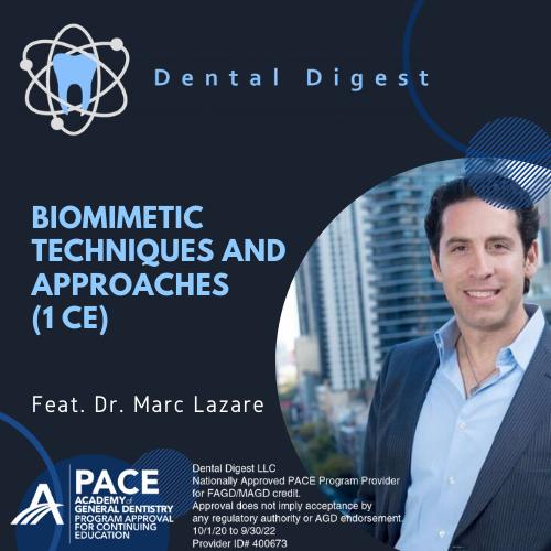 Dr. Marc Lazare biomimetic dentistry